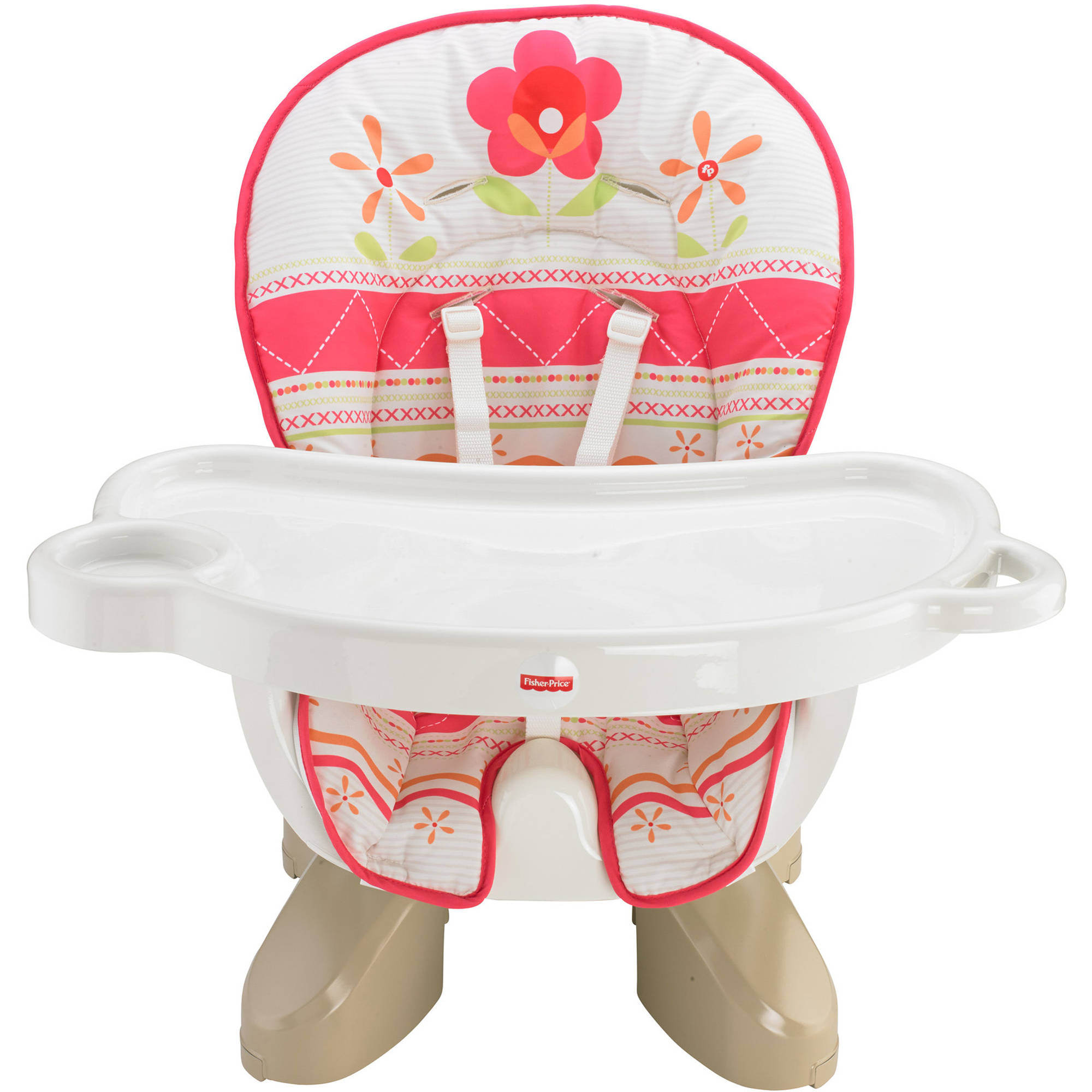 Fisher-Price SpaceSaver High Chair, Sunny Flower