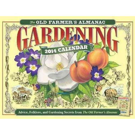 The Old Farmer 39 S Almanac Gardening 2014 Calendar