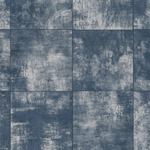 Walls Republic 33' x 20.8'' Weathered Tile Grind Wallpaper