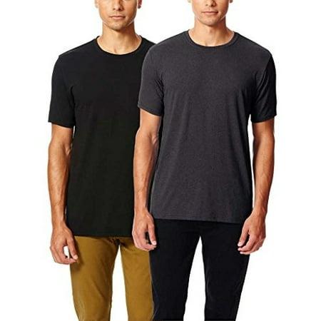 Degree Tee Shirts - 32 Degrees Weatherproof Men's Cool Tee Short Sleeve, Crew Neck, Quick Dry, Anti-odor