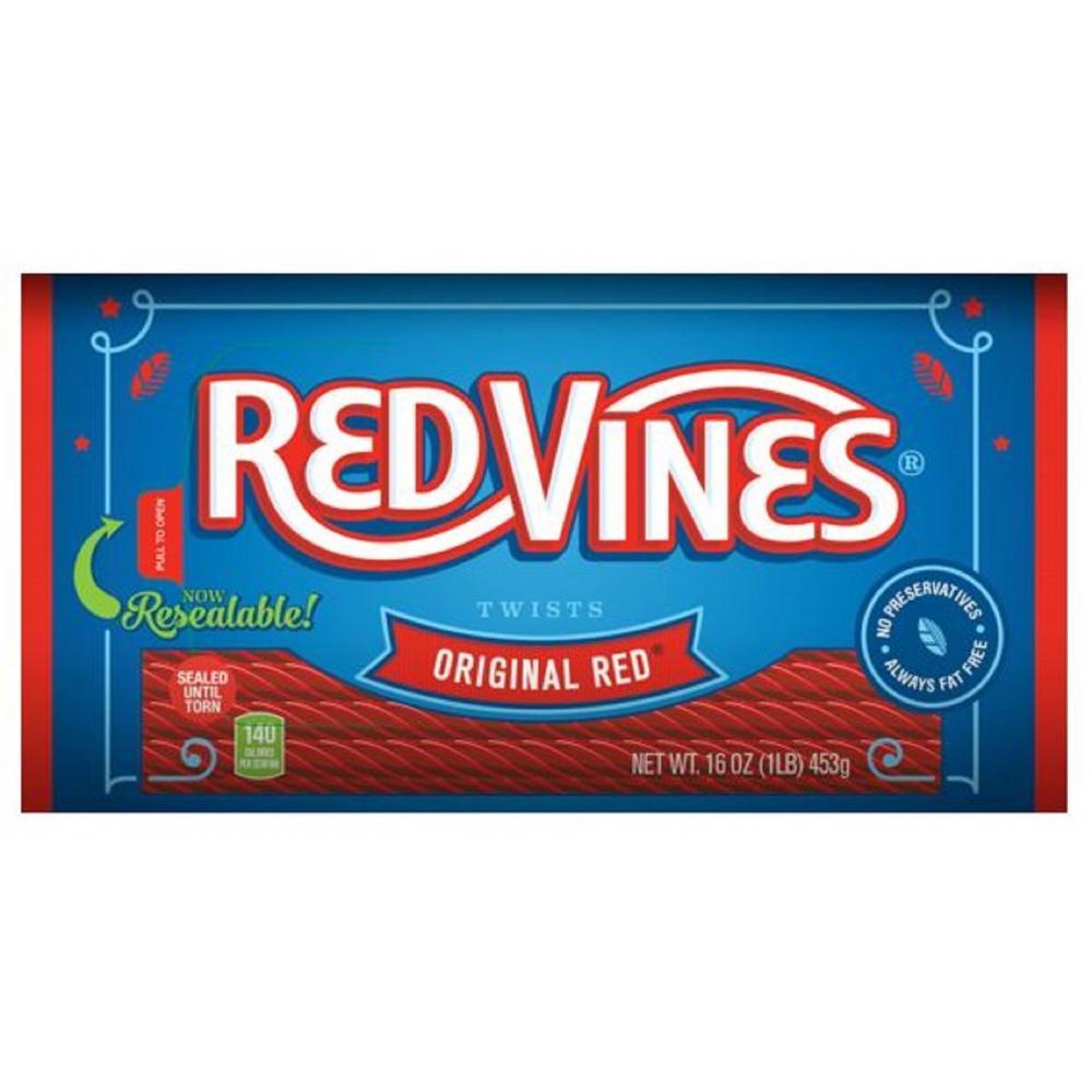 Red Vines Original Red Licorice Twists, 16 Oz.