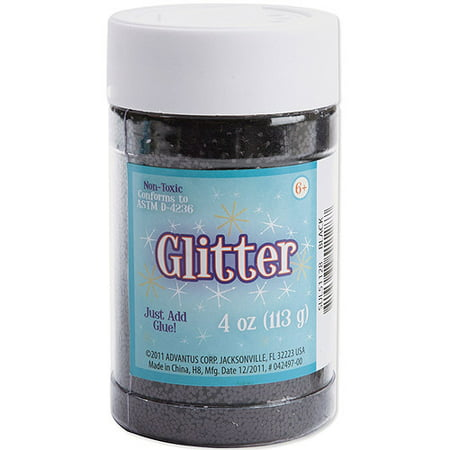 Black 4 Ounce Powder - Sulyn 4-ounce Black Glitter