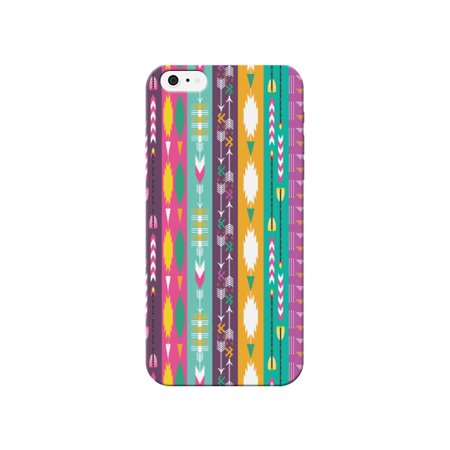 iCandy Purple Indian Arrow Phone Case for the Apple Iphone 4 / 4s (Cleveland Indians Iphone 4s Case)