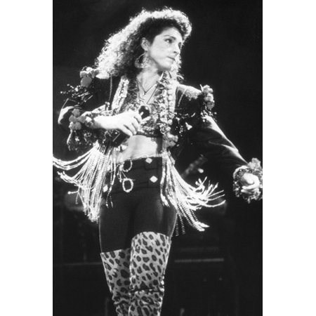 Gloria Estefan in concert Miami Sound Machine b/w 24x36
