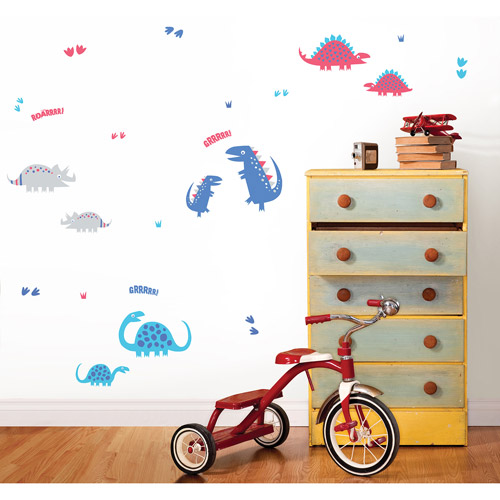 Fun4Walls Dino Blue Wall Stickers