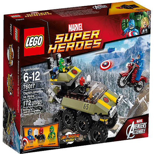 LEGO Super Heroes Captain America vs. Hydra Play Set
