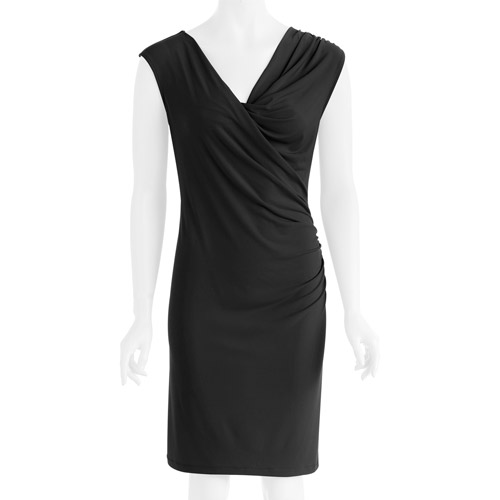 George Career Essentials Women's Poly Span Jersey Sleeveless Dress