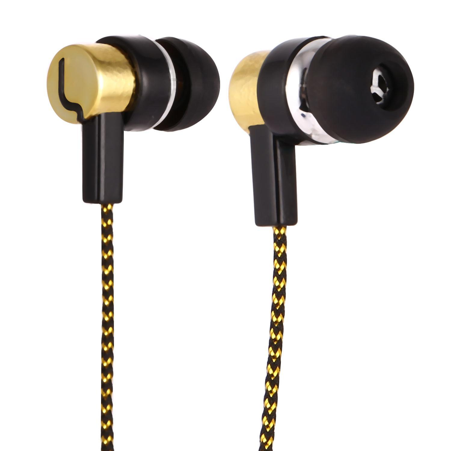 Fashion In-Ear Earbuds Earphone Mic In-Ear Only Headsets Stereo Headphones HITC