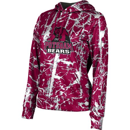 Women's State University of New York at Potsdam Distressed Pullover (Distance From New York To Harvard University)