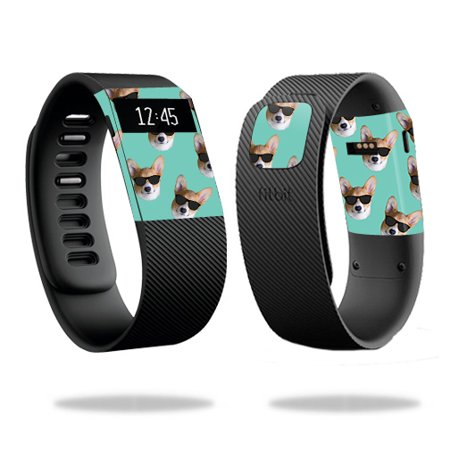 MightySkins Skin Compatible With Fitbit Charge / Charge HR – Action Fish Puzzle | Protective, Durable, and Unique Vinyl Decal wrap cover | Easy To Apply, Remove, and Change Styles | Made in the