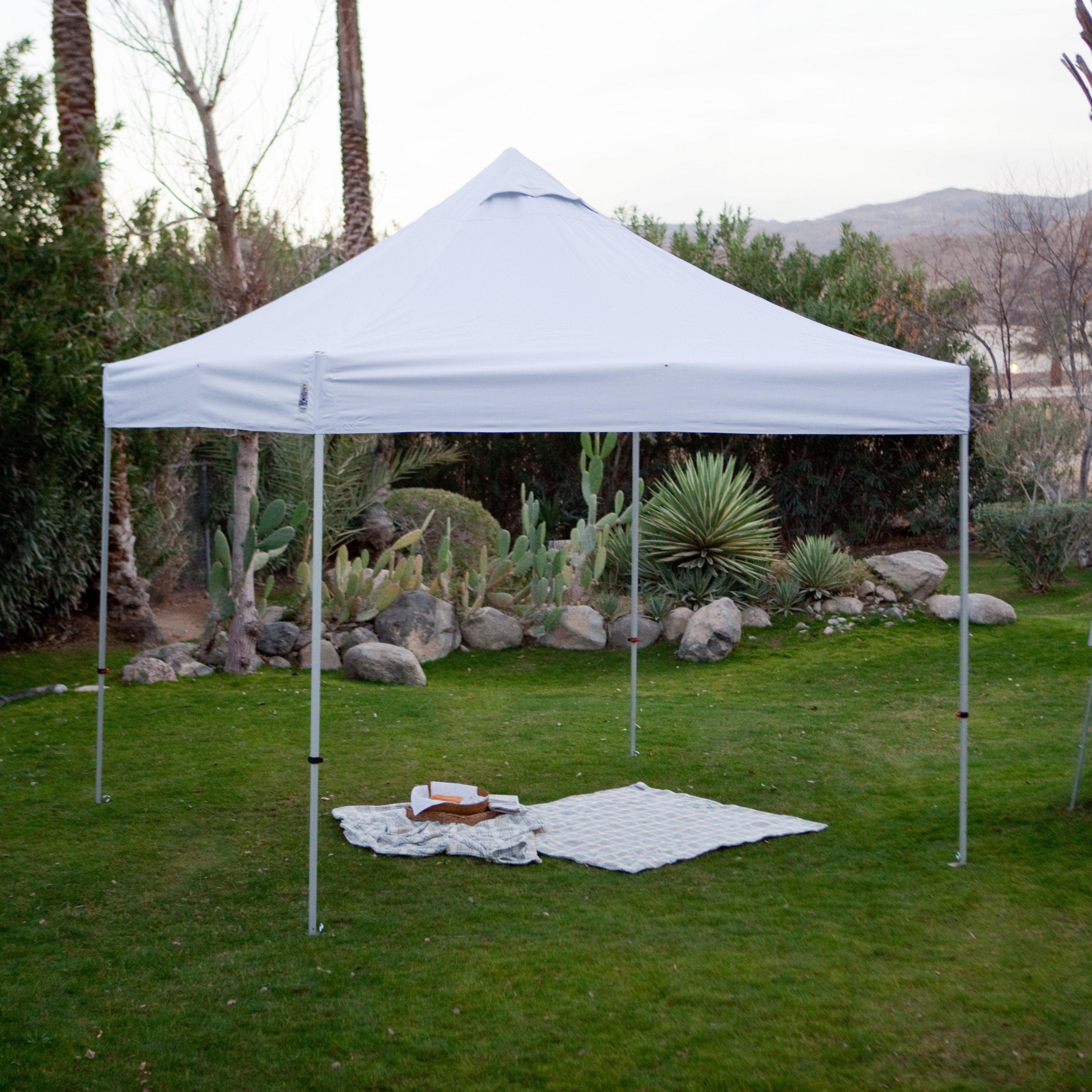 Super Lightweight Aluminum Instant Canopy - Walmart.com & UnderCoveru0026reg; 10 x 10 ft. Super Lightweight Aluminum Instant ...
