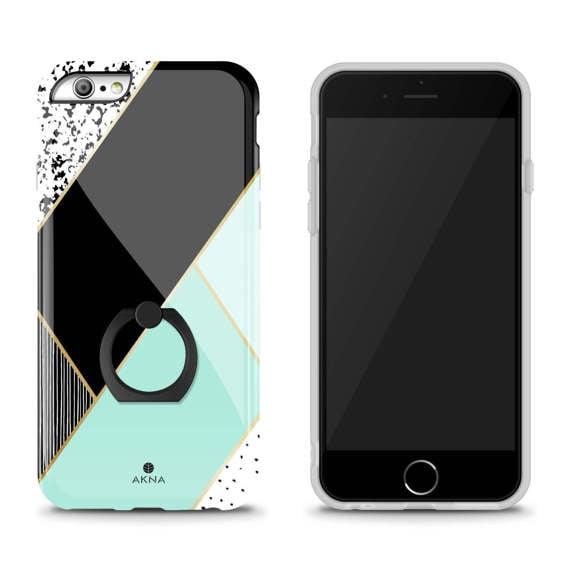 Mint Green Geometric IPhone 6 Case