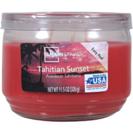Mainstays 11.5-Ounce Candle, Tahitian Sunset