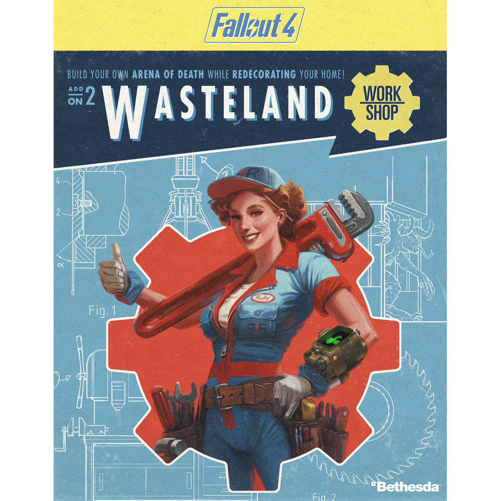 Fallout 4 - Wasteland Workshop DLC (PC) (Email Delivery)