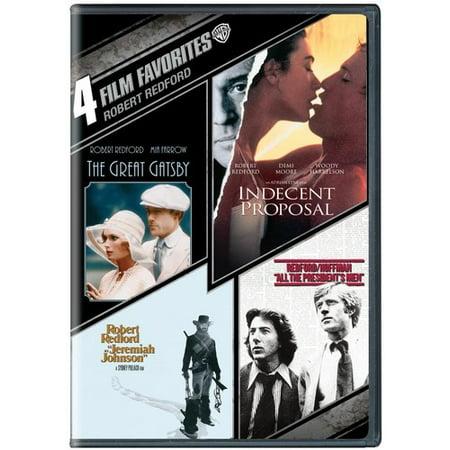 4 Film Favorites: Robert Redford ( (DVD))