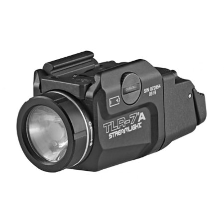 Streamlight 69424 TLR-7A Flex Low-Profile Rail-Mounted Tactical Light 500 Lumens Flashlight Low and High Switch Black Streamlight Low Profile Mount