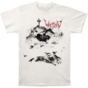 Wretched Men's  Solitary Decay T-shirt Off-white