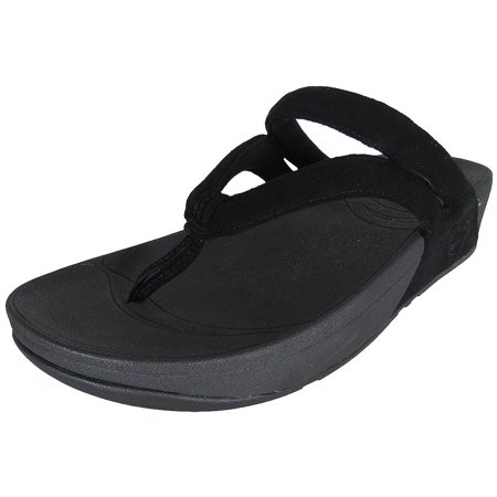 95dee7e47 FitFlop - FitFlop Womens Whirl Thong Flip Flop Sandal Shoes - Walmart.com