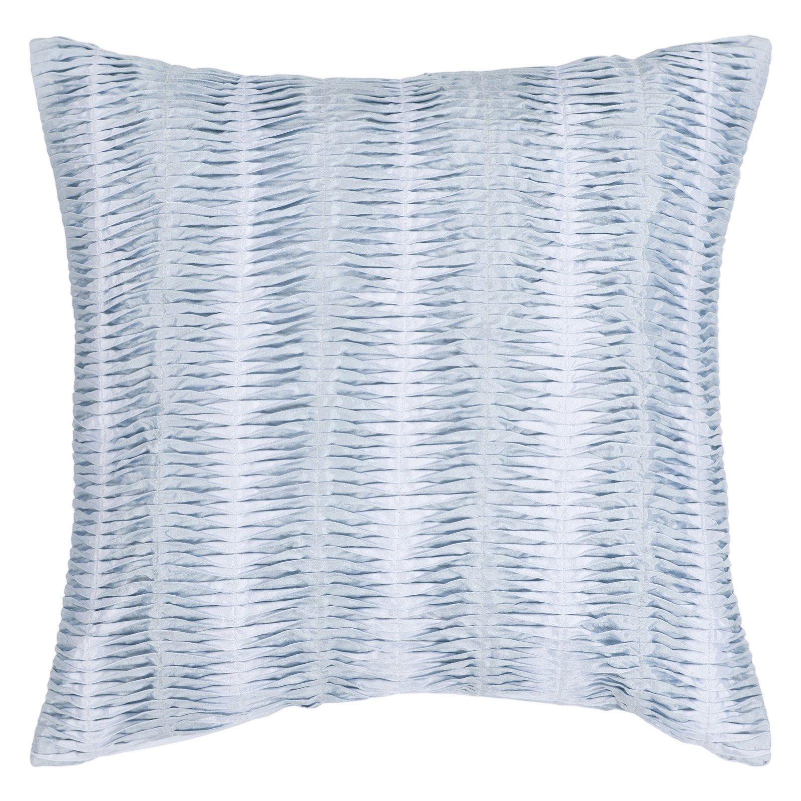 Surya Mystical Pleat Decorative Pillow - Blue