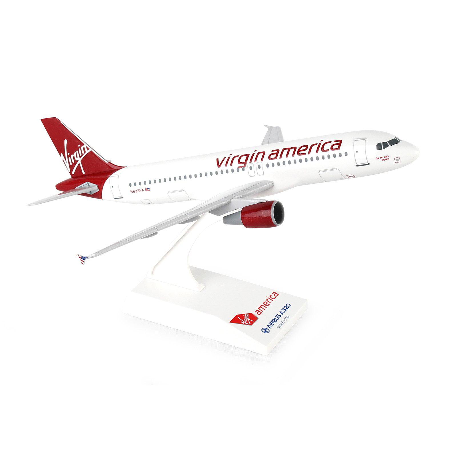 Skymarks Virgin America A320 Model Airplane by DARON