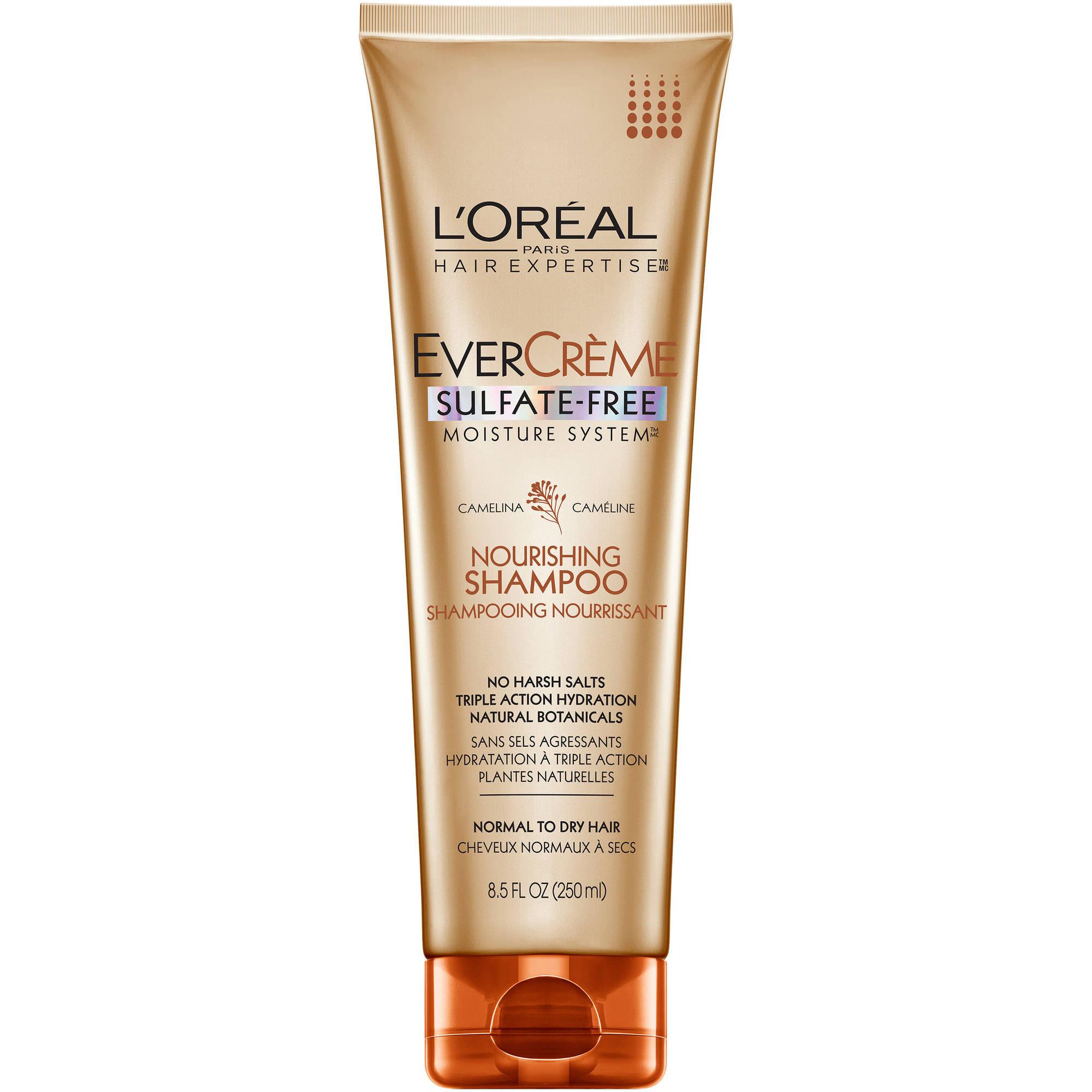 L'Oréal Paris EverCrème Nourishing Shampoo, 8.5 Oz