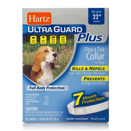 Hartz UltraGuard Plus Flea & Tick Collar For (Best Flea Collars For Dogs)