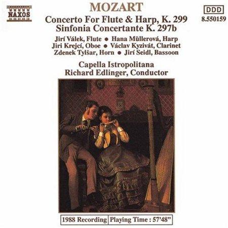 Flute & Harp Concerto (Harp Flute Music)