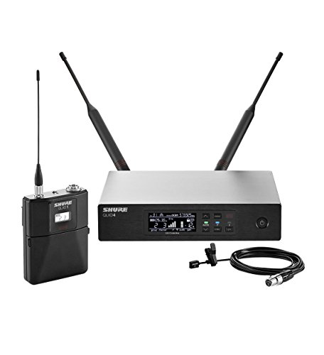Shure QLXD14 93 Lavalier Wireless Microphone System by Shure