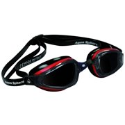 K180 Goggles, Smoke Lens, Red/Black
