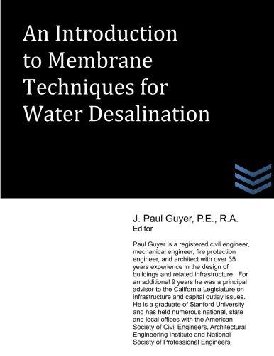 An Introduction to Membrane Techniques for Water Desalination by