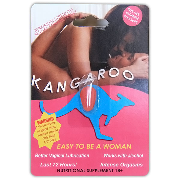 Kangaroo for Woman 1ct (pink)