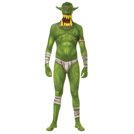 Morris Costumes Jaw Dropper New from Morph collection is this gruesome morphsuit Green Adt Large, Style - Gruesome Costumes