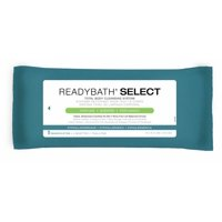 Medline ReadyBath SELECT Medium Weight Cleansing Washcloths, Scented, 5 Ct