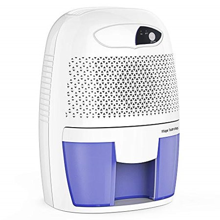 Hysure Portable Mini Dehumidifier Air Purifier 2200 Cubic Feet Electric Safe Dehumidifier for Bedroom, Home, Crawl Space, Bathroom, RV, Baby Room,