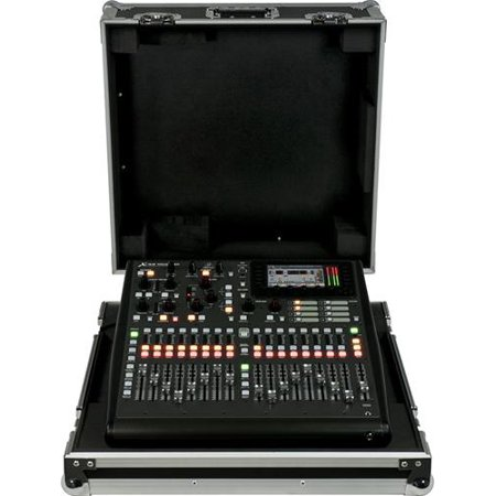 32 Channel Mixing Console - Behringer X32 Producer-TP 40-Input, 25-Bus Rack Digital Mixing Console w/16 Preamps, 17 Faders, 32-Channel Interface and Case