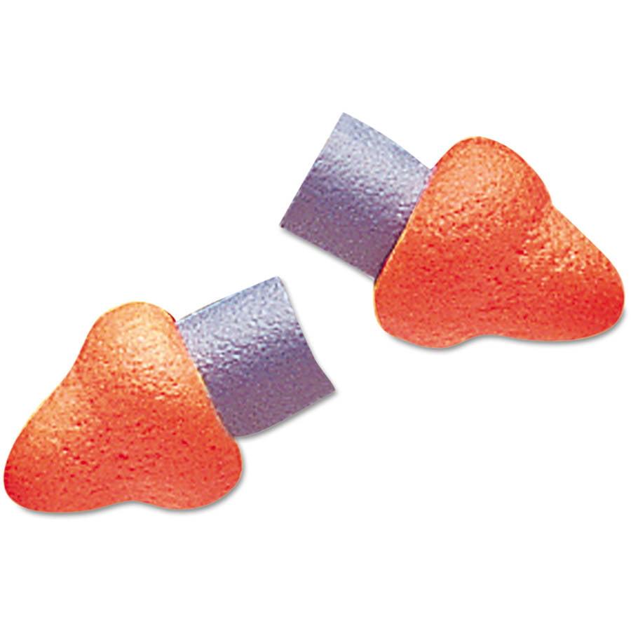 Howard Leight by Honeywell - QB3HYG Banded Multi-Use Earplugs, 23NRR, Red Band/Orange Plug