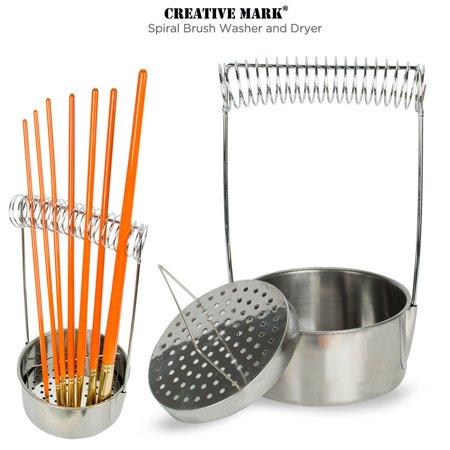 Creative Mark Aluminum Brush Washer Brush Washer and Dryer In One - 4