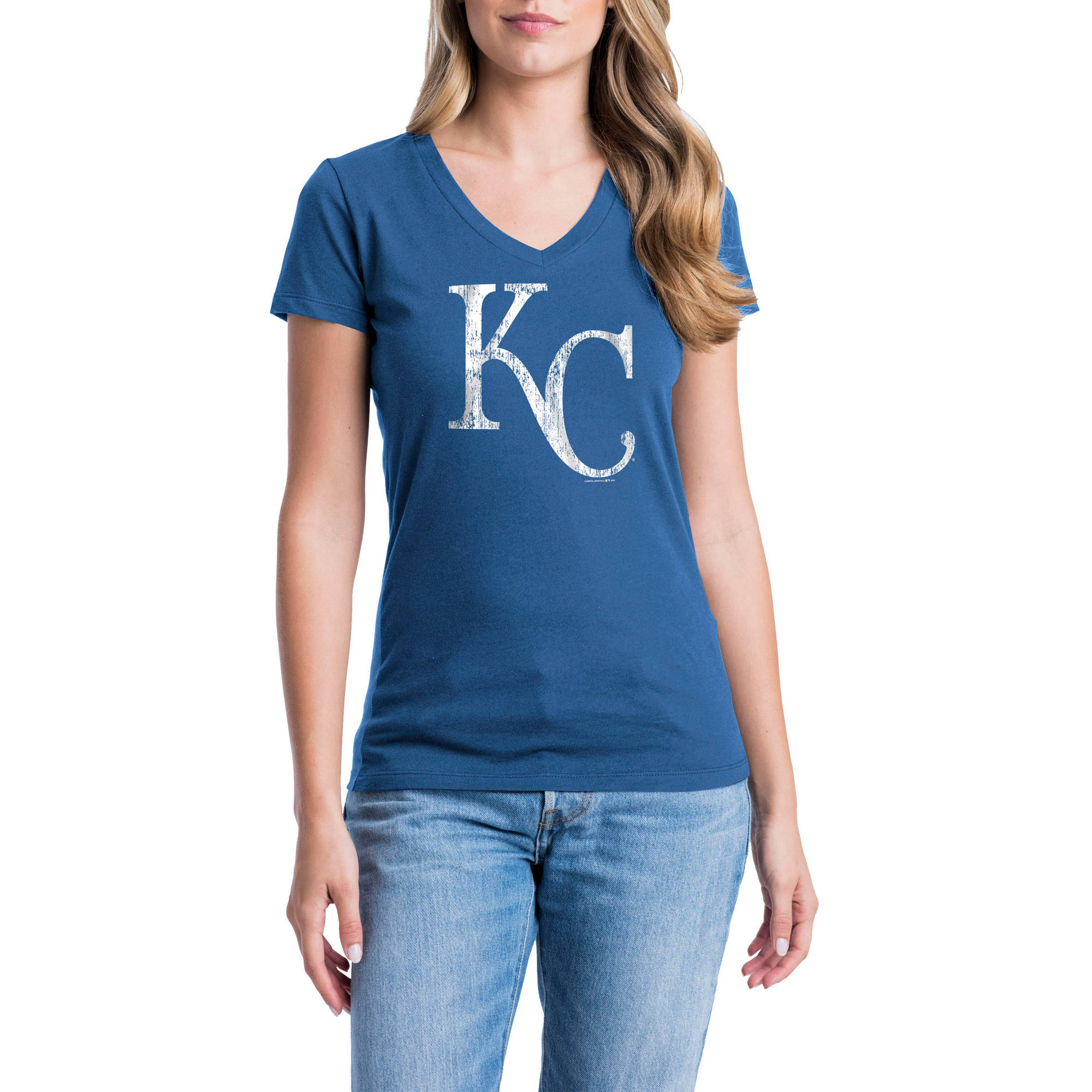 Kansas City Royals Womens Short Sleeve Graphic Tee