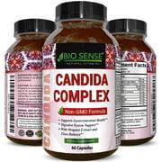 Best Detox Pills - Bio Sense Candida Cleanse Supplement - Natural Candida Review