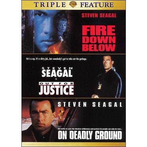 Fire Down Below / Out For Justice / On Deadly Ground (Full Frame)