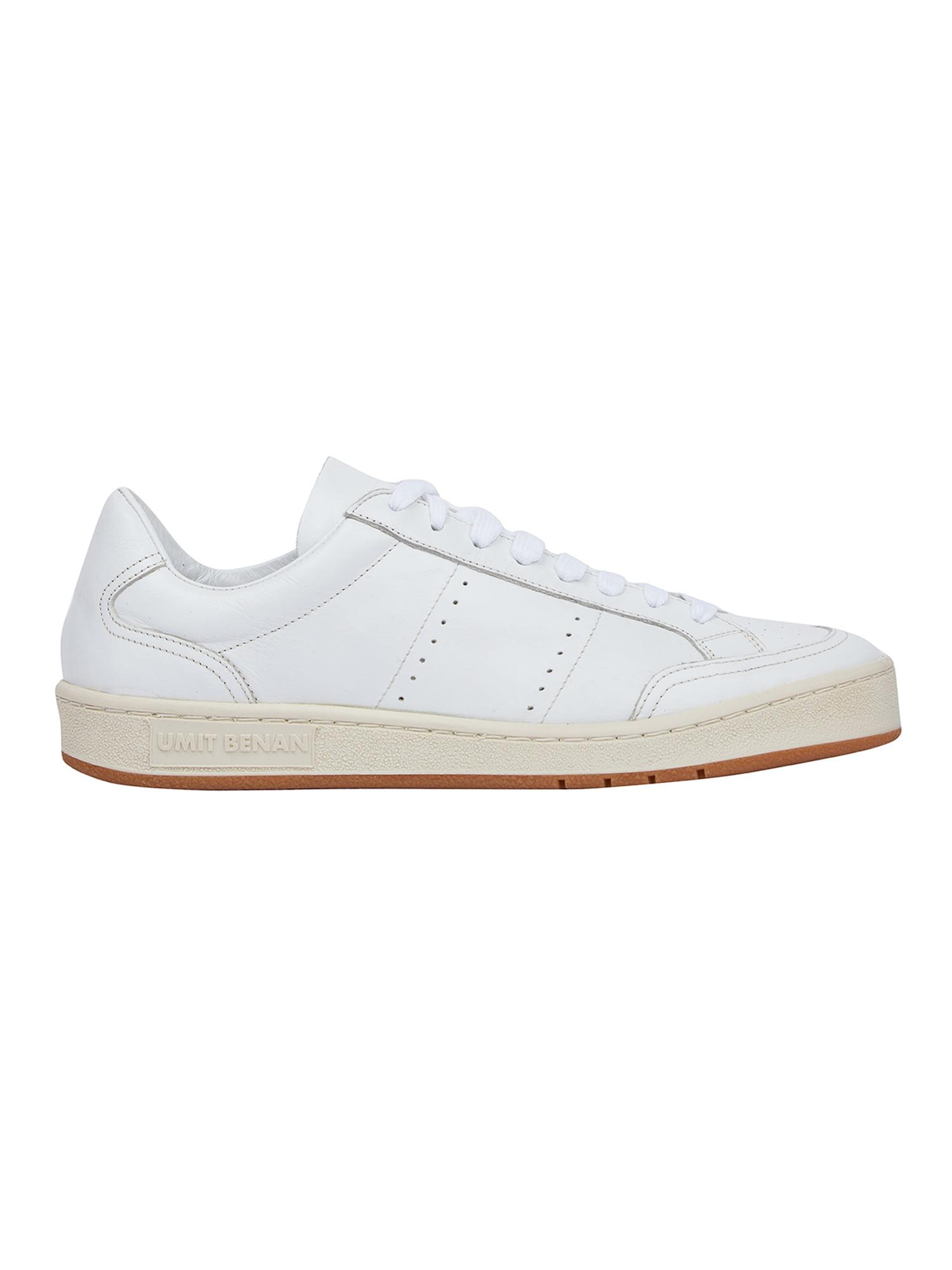 Umit Benan Men's Tennis Sneakers UB15 SNEAKERS All White