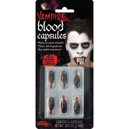 Halloween Blood Capsules