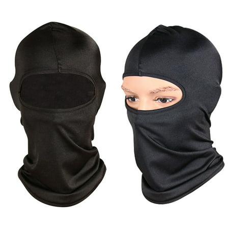 FeelGlad 2 Pack Outdoor Bike Motorcycle Helmet Neck Winter Hat Wind-Resistence Face Mask Full Face  Ski Mask Cold Weather Face Mask  Ski/Snowboard Winter Gear for Men Women Blue