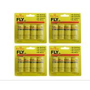 PaZinger 16PCS Fly Paper Strips, Fly Catcher Trap, Fly Ribbon, Fly Bait,Fly Trap, Super Value