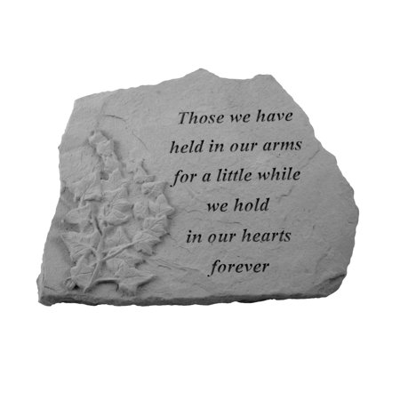 Kay Berry Those We Have Held In Our Arms Memorial Stone - Ivy Design ()