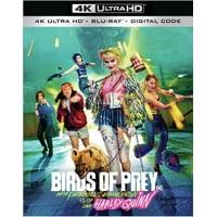 Birds of Prey (And the Fantabulous Emancipation of One Harley Quinn) (4K Ultra HD + Blu-ray + Digital Copy)