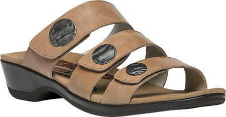 Propet Annika Slide Women's Motion Control Sandal Oyster by Propet