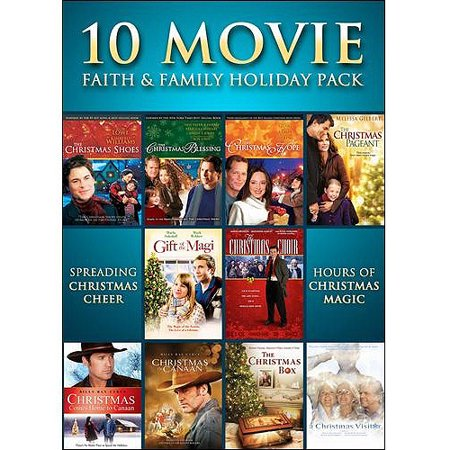 Popular Family Halloween Movies (10 Movie Faith & Family Holiday Pack)