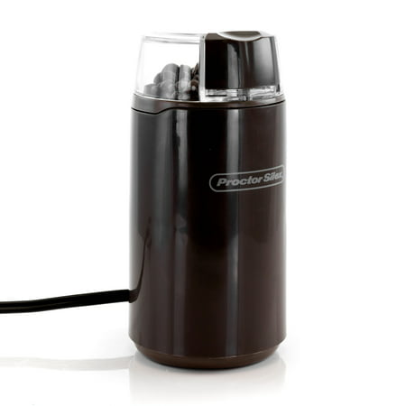 Proctor Silex 4 Ounce Coffee and Spice Grinder in Brown Gray