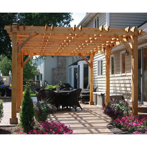 Outdoor Living Today Breeze 20 Ft. W x 12 Ft. D Cedar Pergola by Outdoor Living Today